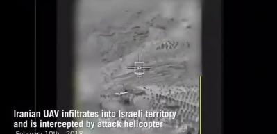 İran İHA'sı İsrail tarafından böyle vuruldu!