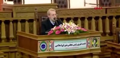 İran Meclis Başkanı'ndan Erdoğan'a destek