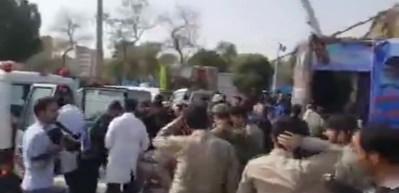İran'da terör saldırısı! Ölü ve yaralılar var