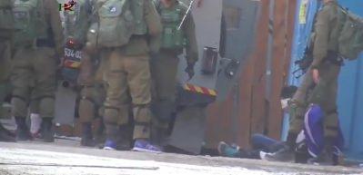 İşgalci İsrail askerleri çocukları böyle gözaltına aldı!