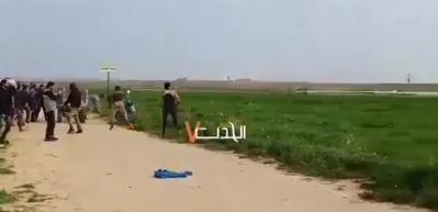 İşgalci İsrail'den insanlık suçu! Cenazeyi buldozerle sürüklediler