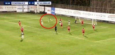 İsmail Köybaşı'dan AZ Alkmaar'a jeneriklik gol