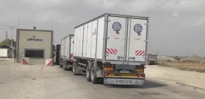 İsrail, Kerm Ebu Salim Sınır Kapısı'nı kısmi olarak kapattı