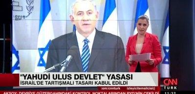 İsrail tartışmalı yasayı kabul edildi! 'Yahudi Ulus Devleti'