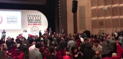 İstanbul'da Baro Başkanlığı seçiminde kavga çıktı