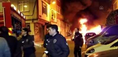 İstanbul'da gece yarısı korku dolu anlar