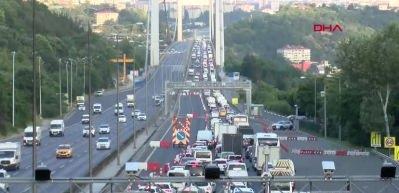 İstanbul'da habersiz yola çıkanlar şoke oldu!
