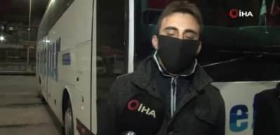 İstanbul'da otogarlar bomboş kaldı