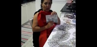İşte fedakar Türk kadını!
