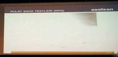 İşte PULAT'ın ilk test görüntüleri! Anında yok etti