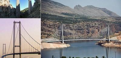 İşte Türkiye'nin köprüleri! İlk kez göreceksiniz