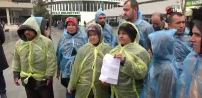 İşten çıkarıldılar CHP'li başkana beddua ettiler