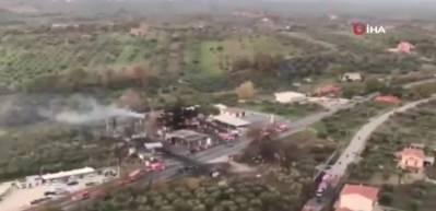 İtalya'da akaryakıt istasyonunda yangın: 2 ölü, 17 yaralı