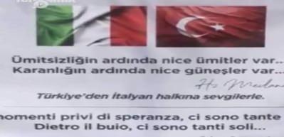 İtalyan çocuktan yardımalar sonrası Türkiye'ye duygulandıran mesaj