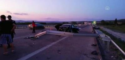İzmir-İstanbul otoyolunda feci kaza!