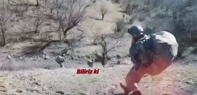 Jandarma, 180. kuruluş yıldönümleri nedeniyle sosyal medyada video paylaştı