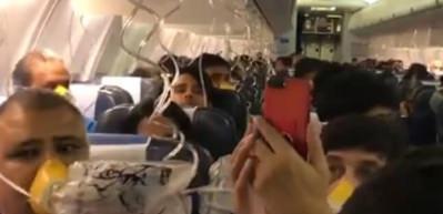 Kabin ekibi unuttu, yolcular kan içinde kaldı!