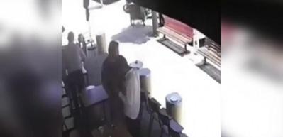 Kaçan hırsızı, tek hamleyle yere serdi!