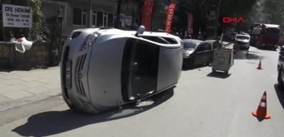 Kadıköy'de trafik kazası