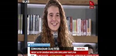 Kadın futbolcudan Erdoğan'a Fenerbahçe sorusu