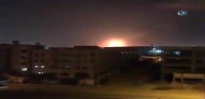 Kahire Havalimanı'nda büyük patlama