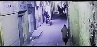 Kahire'deki intihar saldırısının görüntüleri ortaya çıktı