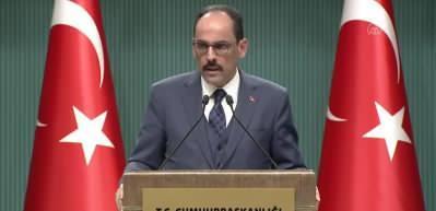 Kalın: Biz, Libya halkının yanında yer almaya devam edeceğiz