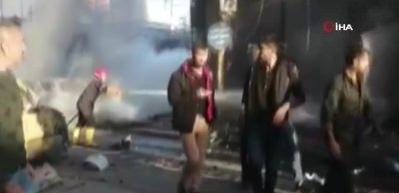 Kamışlı'da bomba yüklü 3 araç patladı: 3 ölü, 5 yaralı