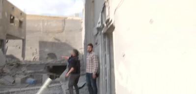 Halep'te faciadan dönüldü!