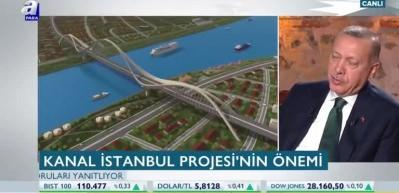 Kanal İstanbul kaç yılda tamamlanacak? Başkan Erdoğan açıkladı