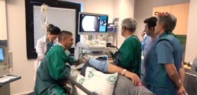 Kanser hastalıklarına endoskopik yöntemlerle ameliyatsız tedavi