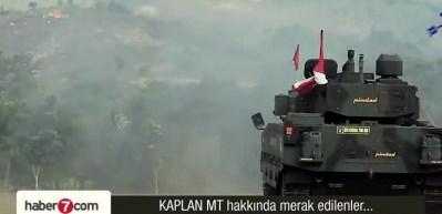 Kaplan MT tankı... Tam 30 ton ve sınıfında en iyisi!