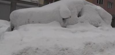 Kar yağışı yaşamı olumsuz etkiliyor