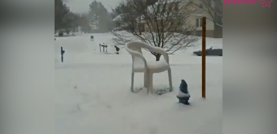 Kar yağışının hızlandırılmış hali
