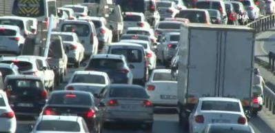 Kasım ayında 66 bin 578 adet taşıtın trafiğe kaydı yapıldı