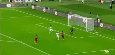 Katar-BAE maçına asker selamı damgası