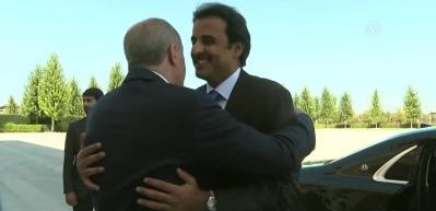 Katar Emiri Al Sani, Beştepe'de