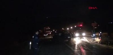 Kaza yapan otomobilin hız göstergesi 120'de takılı kaldı: 2 yaralı