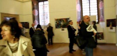 'Kelimenin Kalbi' sergisi 'Sanatın Kalbi' Roma'da
