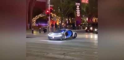 Kendine hayran bırakan Mercedes-Benz VISION AVTR ilk kez trafiğe çıktı