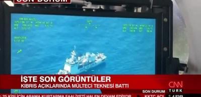 Kıbrıs açıklarında facia: 19 ölü, 25 kayıp
