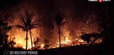 Kilauea Yanardağı'nda büyük patlama!