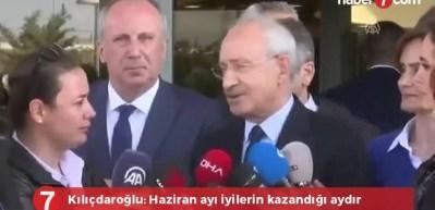 Kılıçdaroğlu: Haziran iyilerin galip geldiği bir aydır