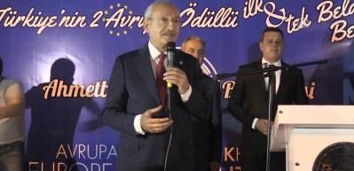 Kılıçdaroğlu, Kırklareli'de konuştu