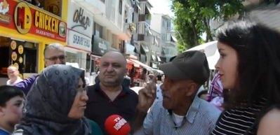 'Kime oy vereceksiniz?' sorusuna CHP'lilerden taciz!