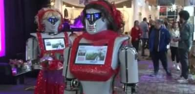 Kına gecelerinde 'robot' dönemi