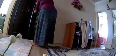 Kiracısının evine hırsızlık için böyle girdi