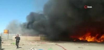 Kırıkkale OSB'de fabrikada yangın