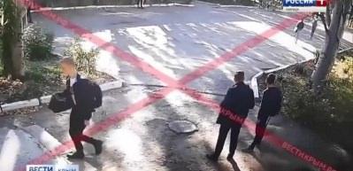 Kırım saldırısının görüntüleri ortaya çıktı