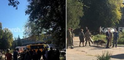 Kırım'da patlama: 10 ölü